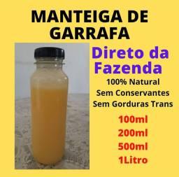 Manteiga de Garrafa 100% Natural Direto da Fazenda