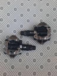 Pedal M520 e mesa ritchey
