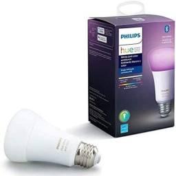 Lâmpada Smart Philips Hue E27 Branca e Colorida - 220w