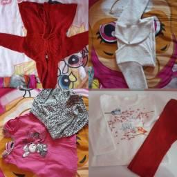 Lote de roupas tamanho 1