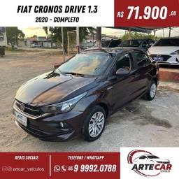 Título do anúncio: Fiat Cronos drive 1.3 2020!!13mil km