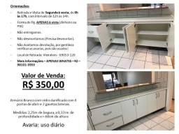 Título do anúncio: Armário Cozinha - Com Vidro - Não desmontamos e não entregamos!
