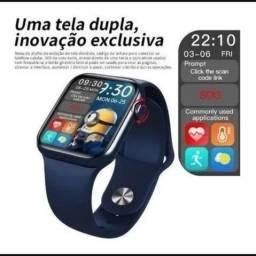 Título do anúncio: Smartwatch Relogio Inteligente Hw16 44mm Monitor Bluetooth(Ipatinga)