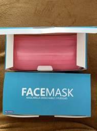 Máscara Tripla Proteção Descartável Coloridas