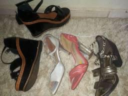 Sandálias semi nova