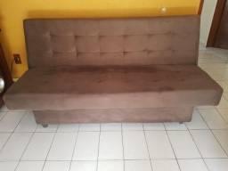 Sofá-cama Reclinável casal 03 lugares
