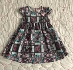 Vestido infantil 3-4 anos