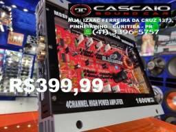 Título do anúncio: modulo amplificador potencia automotivo bbuster 1600 gl buster booster  1600w 1600 watts w