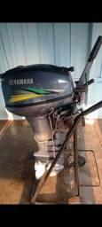 Título do anúncio: Motor Yamaha 15 hp