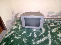 Título do anúncio: Tv 21pol funcionando tela plana