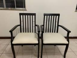 Título do anúncio: Vendo conjunto de cadeiras