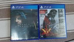 Vendo/Troco V/T jogos de PS4