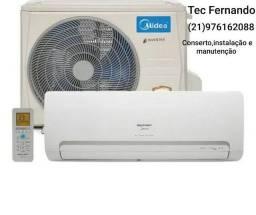 Instalação conserto de ar condicionado split