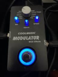 Pedal modulador coolmusic Mod Effects aceito cartão