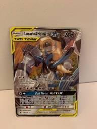 Carta Pokémon: Lucario e Melmetal GX