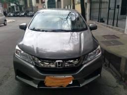 Título do anúncio: Honda city LX aut motor 1.5 CVT flex 4p cinza 2015 51.000km ipva2021pgvist.