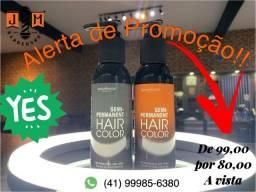Título do anúncio: Hair Color Semi Permanente pigmentação temporária para cabelo / somos loja do barbeiro