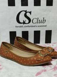 Vendo  uma  sapatilha numero  37 da CSclub  nova. Valor R$ 130,00.