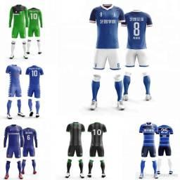 Uniforme Futebol Fardamento padrão futebol personalizado