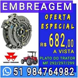 EMBREAGEM TRATOR MASSEY FERGUSON 292/297/299