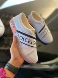 Tênis Meinha Dolce e Gabbana Primeira Linha na Caixinha Atacado