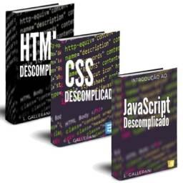 Vc quer aprender Java script, CSS e HTML com facilidade