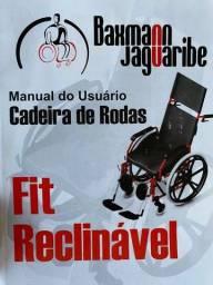 Título do anúncio: Cadeira de rodas Fit Reclinável (Usada)
