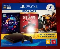 Playstation 4 novo nota fiscal 4jg lacrados ac cartão proposta