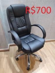 Título do anúncio: Cadeira Presidente Puro Luxo