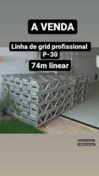 Título do anúncio: Linha de grid P-30 profissional, feeling.
