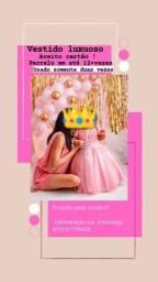 Título do anúncio: Vestido de princesa !!