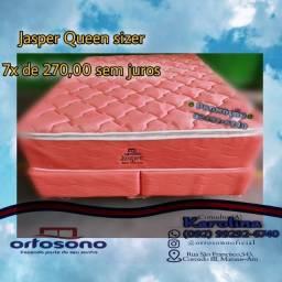 Cama queen sizer, queen sizer, cama molas ensacadas_ frete gratis_
