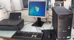 Computador em otimo estado de funcionamento e Conservação c/ Impressora