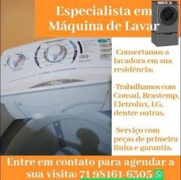 Conserto Máquina de Lavar