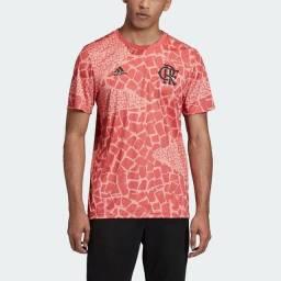 Promoção !!!<br>Camisa Original Flamengo Adidas Pré-Jogo 2020/21