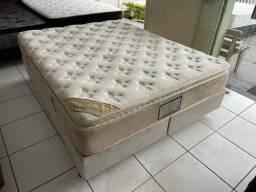 cama box queen size - luxo