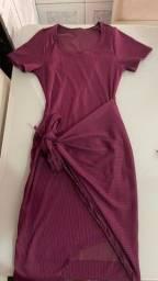 Título do anúncio: Vestido canelado