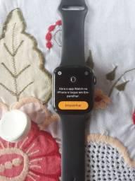 Apple Watch S4 Serie 4 (gps+celular) Cinza Espac/preto 44mm