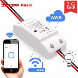 Sonoff Basic R2 Residência Inteligente Wifi Automação Alexa