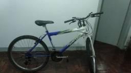 Bike com manutenção em dia e pneus novos
