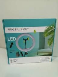 Ring Light de 26cm com Tripé de 2,1m