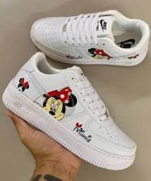 Título do anúncio: Tênis Nike Air Force Minnie