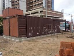Vende-se Containers com Pintura Marítima e tamanho Extra para Loja/Escritório (DRY 40 pés)