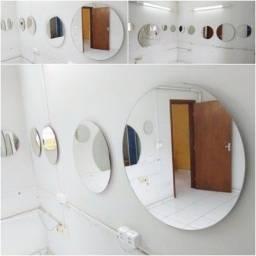 Espelhos diversos formatos e tamanhos