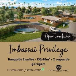 Imbassaí Privillege - Bangalôs 2 suítes, 158m²- Incrível