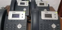 04 Telefones IP Voip Yealink SIP T21P