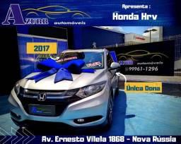 Honda Hrv Ex!Complet!Ar Condicionado Digital!Bancos em Couro!Única Dona!!!