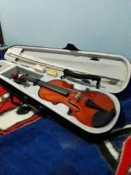 Título do anúncio: Violino Custon semi novo e já regulado