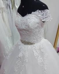 Vestido de Noiva Cinderela Novo