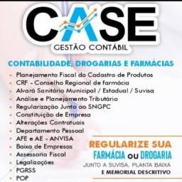 Título do anúncio: Case Gestão Contábil Contabilidade Drogaria